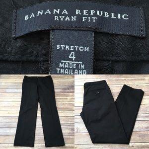 Sz 4 Banana Republic Slim Straight Leg Dress Pants